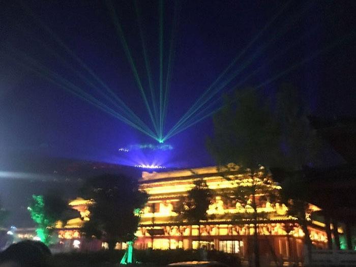汉中市南郑汉山广场室外扩声在线影院