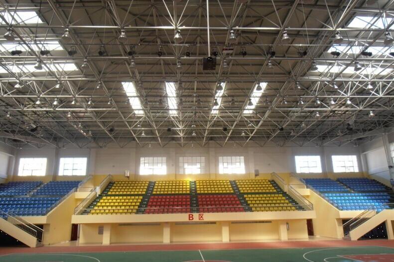 惠来高级中学体育馆音响系统图片
